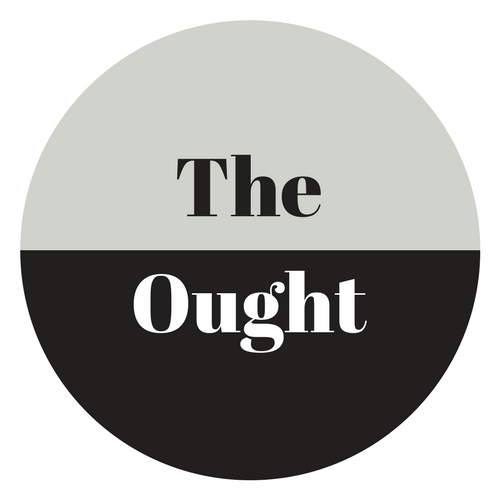 Circle with The Ought Written in it